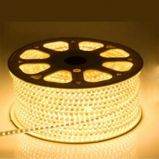 LED Strip 230V - Warm wit - 2700K - 60xSMD5050/m - IP66