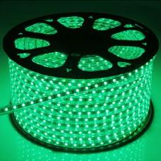 LED Strip 230V - Groen - 60xSMD5050/m - IP66